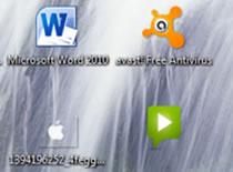 Jak usunąć tekst pod ikonami w w Windows 7