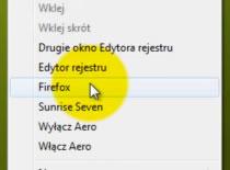 Jak dodawać swoje programy do menu kontekstowego