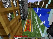 Jak zrobić przedłużacz do redstone'a i zwrotnicę w Minecraft