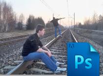 Jak wykonać zdjęcie na n-k w PS CS5 z motywem postaci