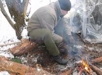 Jak przetrwać zimą - wyprawa 24h #2