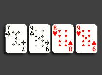 Jak wykonać sztuczkę z zamianą 4 kart