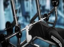 Jak ćwiczyć mięśnie klatki - wyciskanie sztangi na ławce poziomej