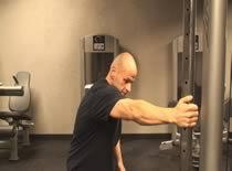Jak wykonać stretching mięśni najszerszych grzbietu
