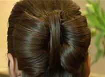 Jak zrobić kokardę z włosów