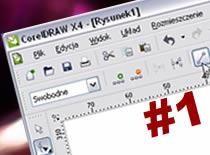 """Jak użyć narzędzia """"kształt"""" w CorelDraw #1"""