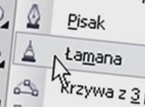 """Jak korzystać z narzędzia """"łamana"""" w CorelDraw"""