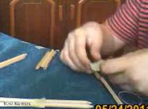 Jak zrobić kuszę z ołówków