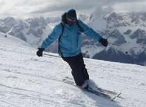 Jak nauczyć się jazdy na nartach - carving