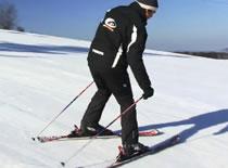 Jak nauczyć się jazdy na nartach - skręcanie na nartach