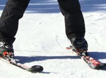Jak nauczyć się jazdy na nartach - ustawienie w skręcie