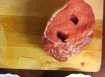 Jak zrobić pieczony schab ze śliwkami i morelami