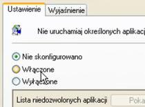 Jak zablokować dowolną aplikację w Windows XP