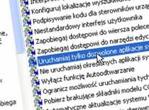 Jak uruchamiać dozwolone aplikacje w Windows XP