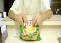 Jak zamykać paczki chipsów