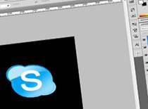 Jak w Adobe Photoshop zrobić ikonkę Skype