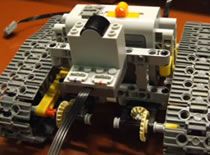 Jak zrobić zdalnie sterowany czołg z Lego
