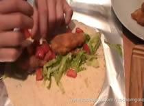 Jak zrobić Twistera z KFC