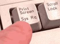 Jak poprawić działanie klawisza Print Screen