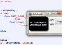 Jak zrobić loggera do poczty o2.pl - AutoIt #1