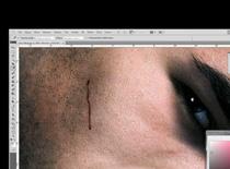 Jak zrobić efekt metki na twarzy w Photoshop
