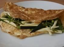 Jak zrobić zielony omlet