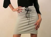 Jak zrobić spódniczkę wiązaną z przodu