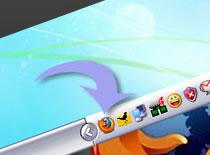 Jak minimalizować Firefox do paska tray