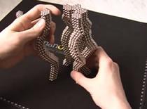 Jak zrobić abstrakcyjną figurę z kulek magnetycznych