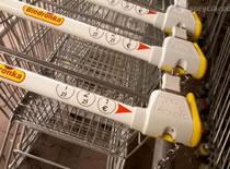 Jak odpiąć wózek w sklepie bez monety