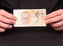 Jak wykonać sztuczkę z dziurawym banknotem