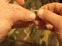 Jak wiązać haczyki - węzeł ukryty #2