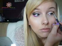 Jak zrobić makijaż z kolorową dolną powieką