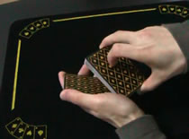 Jak efektownie przekładać karty - Waffle
