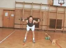 Jak ćwiczyć sztangą i sztangielkami w domu #2