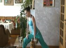 Jak ćwiczyć w domu - ćwiczenia na plecy #3