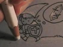 Jak narysować małego rycerza