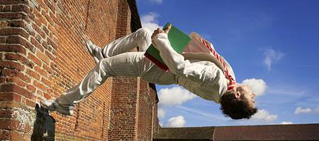 Jak wykonać wallflip - pokonanie strachu