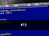 Jak programować w Pascalu #15 - Procedury