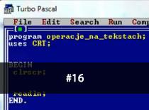 Jak programować w Pascalu #16 - Tablice