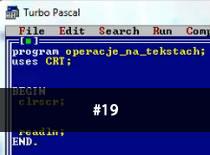 Jak programować w Pascalu #19 - Pliki