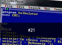 Jak programować w Pascalu #21 - NWW NWD