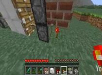 Jak zrobić drzwi z pistonów w Minecraft