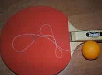 Jak przerobić paletkę do tenisa stołowego na zabawkę