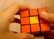 Jak zrobić wzór w kostce Rubika - zamiana środków