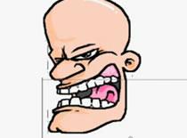Jak narysować głowę z kreskówki