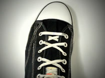 Jak sznurować buty - wiązanie Four X