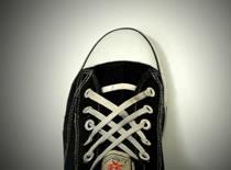 Jak sznurować buty - wiązanie Lattice