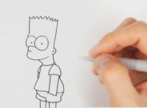 Jak narysować postać z kreskówki - Bart Simpson