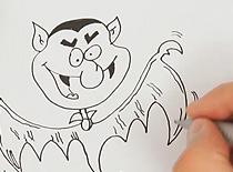 Jak narysować wampirowego stworka